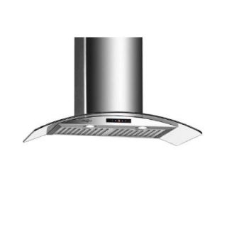 Ancona GCC430 30 in. Wall Mounted Convertible Range Hood in Stainless Steel AN 1188