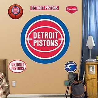 Fathead NBA Wall Decal; Detroit Pistons