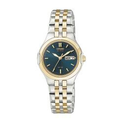 Citizen Eco Drive Womens Corso Two tone Watch   13068629