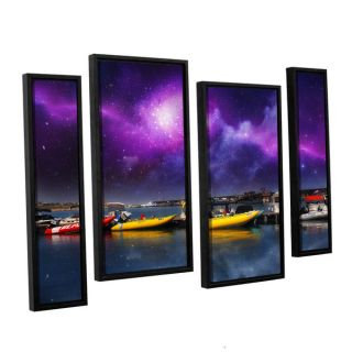 ArtWall Dragos Dumitrascus Gateway 4 piece Floater Framed Canvas