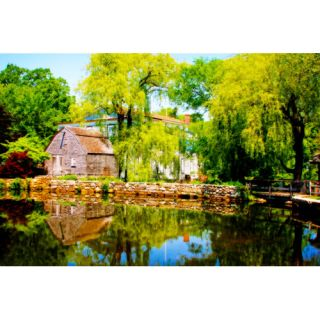 Buy Art For Less Old Grist Mill by Jobe Waters Photographic Print on