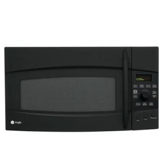 GE Profile Spacemaker 2.1 cu. ft. Over the Range Microwave in Black DISCONTINUED PVM2170DRBB