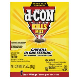 D CON Indoor Rodent Poison Bait for House Mice