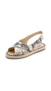 Pour La Victoire Olive Espadrille Sandals