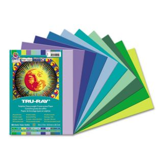 Tru Ray Construction Paper (50 Pack) by Pacon Creative Products
