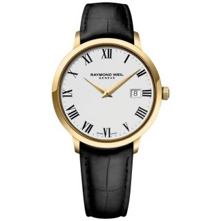 Raymond Weil Mens 5488 PC 00300 Toccata Stainless Steel and Gold PVD