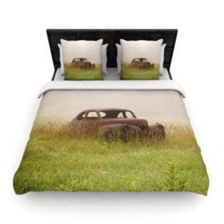 KESS InHouse Forgotten Car by Angie Turner Woven Duvet Cover