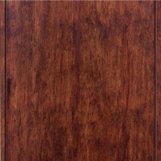 Home Legend Hand Scraped Birch Espresso Click Lock Hardwood Flooring   5 in. x 7 in. Take Home Sample DISCONTINUED HL 657371