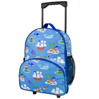 Olive Kids Pirates Rolling Luggage
