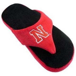 Comfy Feet CF NEB082X Nebraska Cornhuskers Comfy Flop Sandal Slippers   XX Large