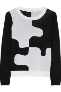 Daphne intarsia wool sweater  Diane von Furstenberg