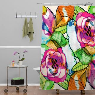 DENY Designs CayenaBlanca Fantasy Garden Shower Curtain