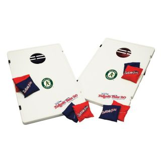Wild Sports Oakland Athletics Outdoor Corn Hole Party Game with Case