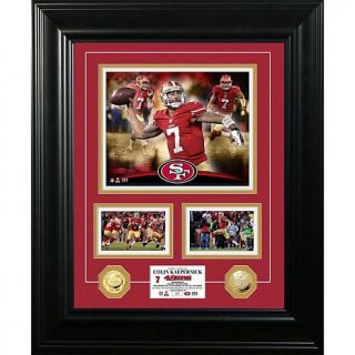 """Colin Kaepernick """"Marquee"""" Gold Coin Photo Mint   7596200"""