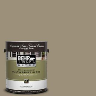 BEHR Premium Plus Ultra 1 gal. #730D 5 Village Square Semi Gloss Enamel Exterior Paint 585401