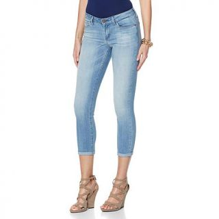 Jessica Simpson Forever Skinny Rolled Denim Crop Jean   8000805
