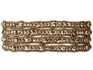 Chan Luu Pyrite Mix Crystal Mix Wrap Bracelet Pyrite Mix