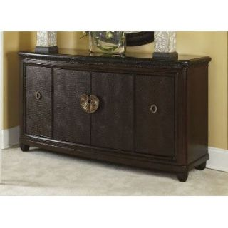 American Drew 308 859 Bob Mackie Home Credenza with Granite Top