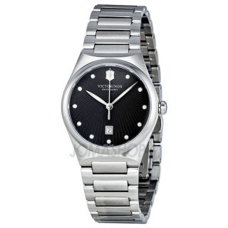 Victorinox Swiss Army Victoria Charcoal Dial Stainless Steel Ladies