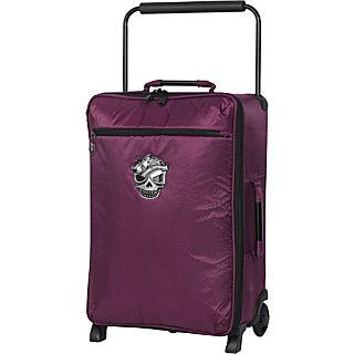 it luggage Worlds Lightest 4 Wheel Skull Logo 21.5