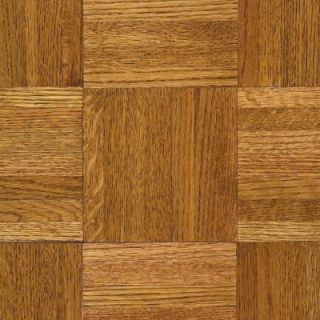 Bruce Oak Honey Parquet 5/16 in. Thick x 12 in. Wide x 12 in. Length Hardwood Flooring (25 sq. ft. / case) 112140