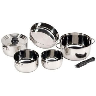 Stansport Stainless Steel Family Cook Set