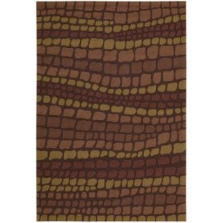 Nourison Fantasy Collection Area Rug, Brick