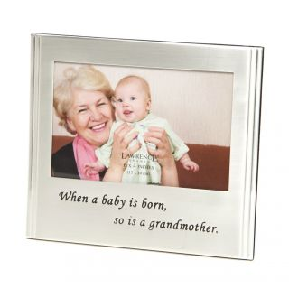 Alcott Hill When A Baby Is Born, So Is A Grandmother Picture Frame