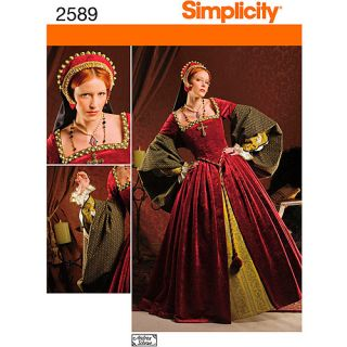 Simplicity Pattern Misses' Tutor Costumes, (16, 18, 20, 22, 24)