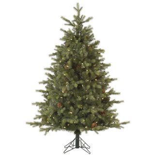 Vickerman 6 Rocky Mountain Fir Artificial Christmas Tree with 400 LED