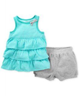 Carters Baby Girls 2 Piece Tank & Shorts Set