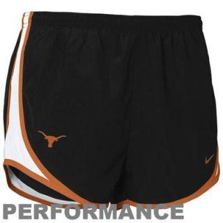 Nike Texas Longhorns Womens Tempo Performance Training Shorts   Black
