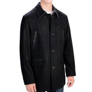 Cole Haan Melton Wool Coat (For Men) 9300H 84