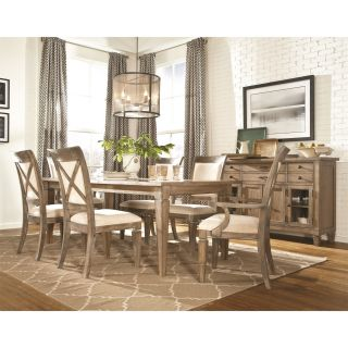 Legacy Classic Furniture 2760 140 KD Brownstone Village Upholstered Back Side Chair in Aged Patina