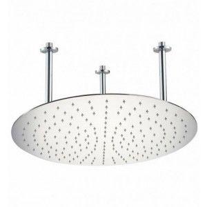 "Alfi Brand RAIN20R PSS Shower Head, 20"" Round Ultra Thin Rain   Polished Solid Stainless Steel"
