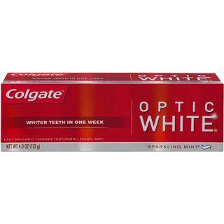 Colgate Optic White Sparkling Mint Toothpaste, 4 oz