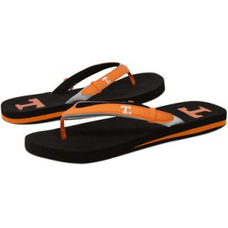 Tennessee Volunteers Ladies Tennessee Orange Black Home and Away Flip Flops