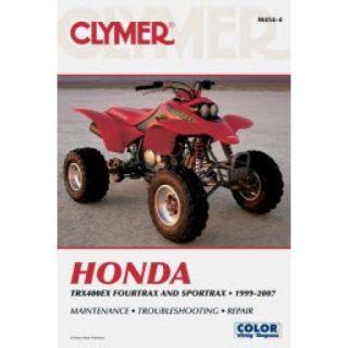 Clymer Repair/Service Manual TRX400EX 99 07 Fits 01 07 Honda TRX400EX SPORTRAX