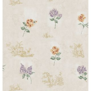 Brewster Wallcovering Toile Impressions II Wallpaper