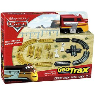 Fisher Price GeoTrax Pixar Cars Track Pack with Trevor