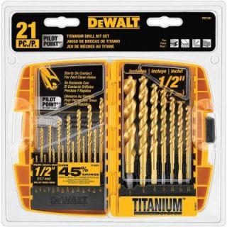 DEWALT Titanium Drill and Steel Drive Bit Set (70 Piece) DWA70DDTWRHD