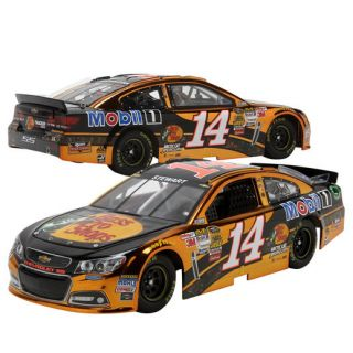 Action Racing Tony Stewart No. 14 Color Chrome 2014 Bass Pro Platinum Series Chevrolet SS 1:24 Scale Die Cast