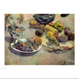 Still Life with Fruit, 1888 Poster Print by Paul Gauguin (24 x 18)