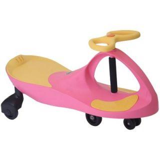 PlasmaCar Plasma Car Pink Yellow Ride On Vehicle