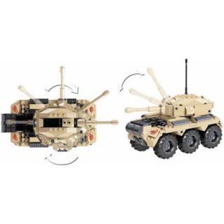 Mega Bloks Adventure Force Military Tank Set #94424