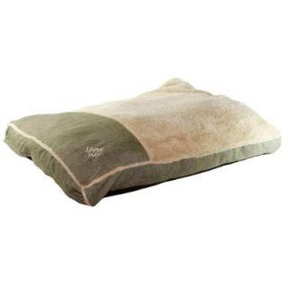 Large Sage Linen Gusseted Bed 39057