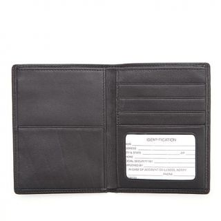 Royce RFID Blocking Passport & Currency Leather Travel Wallet   7901576