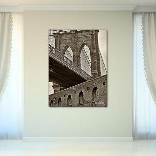 Bruce Bain Brooklyn Bridge Canvas Wall Art   16323206