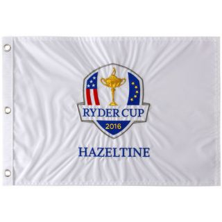 Ryder Cup Hazeltine Embroidered Pin Flag