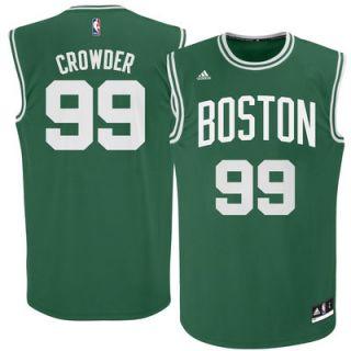 Boston Celtics Jae Crowder adidas Kelly Green Replica Jersey